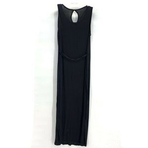 FOREVER 21 Womens Maxi Dress Black XS